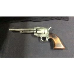 Carved Wood Colt Single Action Store Display Revolver