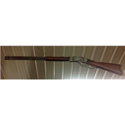 Carved Wood Winchester Rifle For Store Advertising 70''l