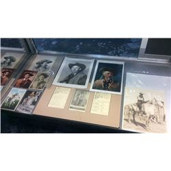 Collection of Buffalo Bill Memorabilia