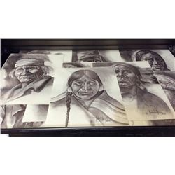 Collection of 10 Early Prints by Norberto Reyes
