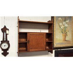 Quarter Sawn Oak Wall Cabinet 30''T x 29''W x 8''D