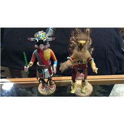 2-hand Made Indian Dancer Dolls Approx 12''t