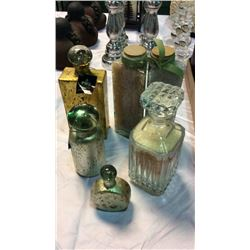 5pc Decanter Decor Set