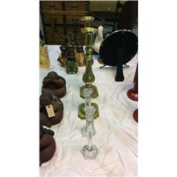 2- 2pc Candle Holders
