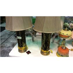 Pair of Ashley Lamps