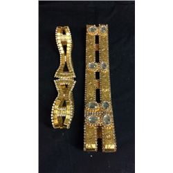2 Costume Jewelry Belts