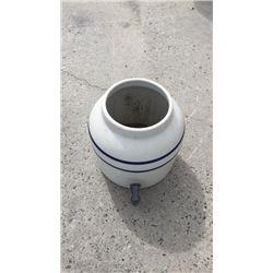 Blue banded crock water no lid