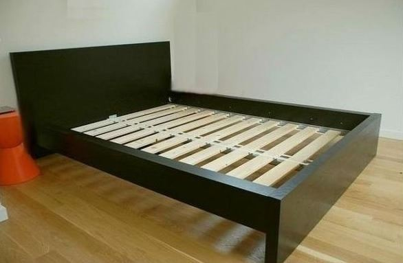 the latest 28254 58d22 IKEA MALM QUEEN SIZE BED FRAME