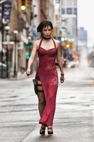 Resident Evil 5 Ada Wong Bingbing Li Movie Costumes