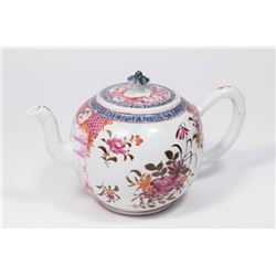 19th Century English Porcelain Teapot