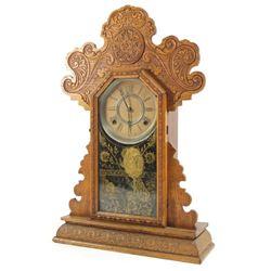 Victorian Gingerbread Mantel Clock