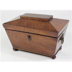 19th Century English Teapoy Tea Box