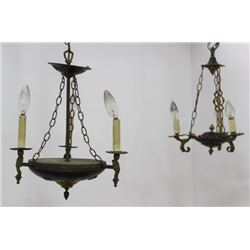 :2 Small Chandeliers