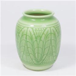 Rookwood High Glaze Green Vase