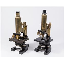 2 Spencer Microscopes & Case