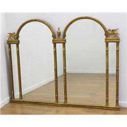 Gilt Framed Empire Style Mirror