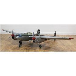 USAF WWII P-38 Lightning Twin Engine Fighter Plane