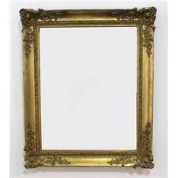 :19th Century Gold Leafed Frame