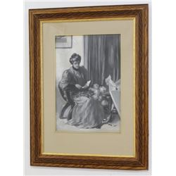 Seated Victorian Woman