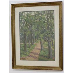 After Pavel Kuznetsov, Path Through the Woods