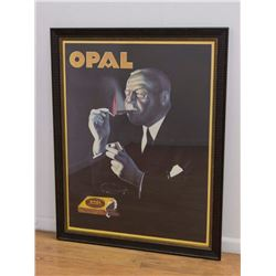 Opal Cigarettes Advertising Poster