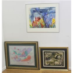 3 Works on Paper