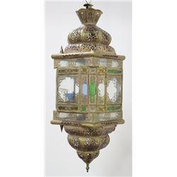 Orientalist Brass Hall Light