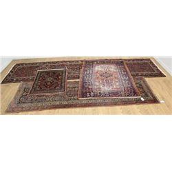 4 Persian Handmade Rugs/Carpets