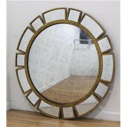Mid-Century Style Bullseye Mirror