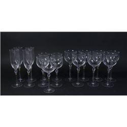 :14 Christian Dior Wine, Champagne & Water Glasses