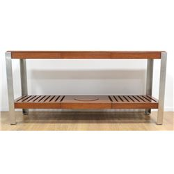 Modern Sideboard with Chromed Legs