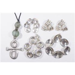 :Group Robert Lee Morris Sterling Silver Jewelry