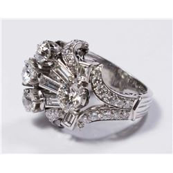 Cartier Platinum White Gold & Diamond Ring