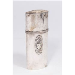 18th-19th Century German Silver Covered Case