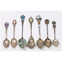 7 Silver Demitasse Spoons