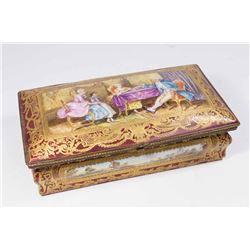 Sèvres Porcelain Box