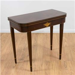 Edwardian Style Games Table