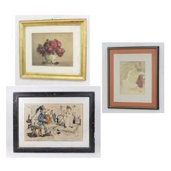 Ulbricht, A. Seiden, I Rosenstock Artworks