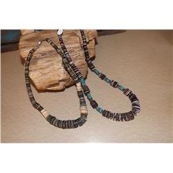 Vintage Set of Two Navajo Necklaces