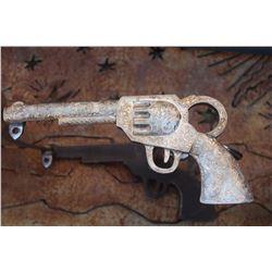 Silver Western Cowboy Gun Horse Bit Collectors