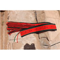 Dead Pawn Authentic Navajo Dance Sash Belt Collectors