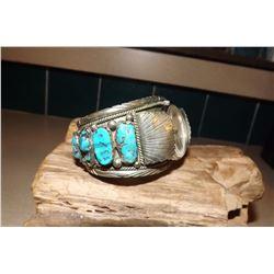 Dead Pawn Vintage Mens Navajo Watch Bracelet Pawn Piece