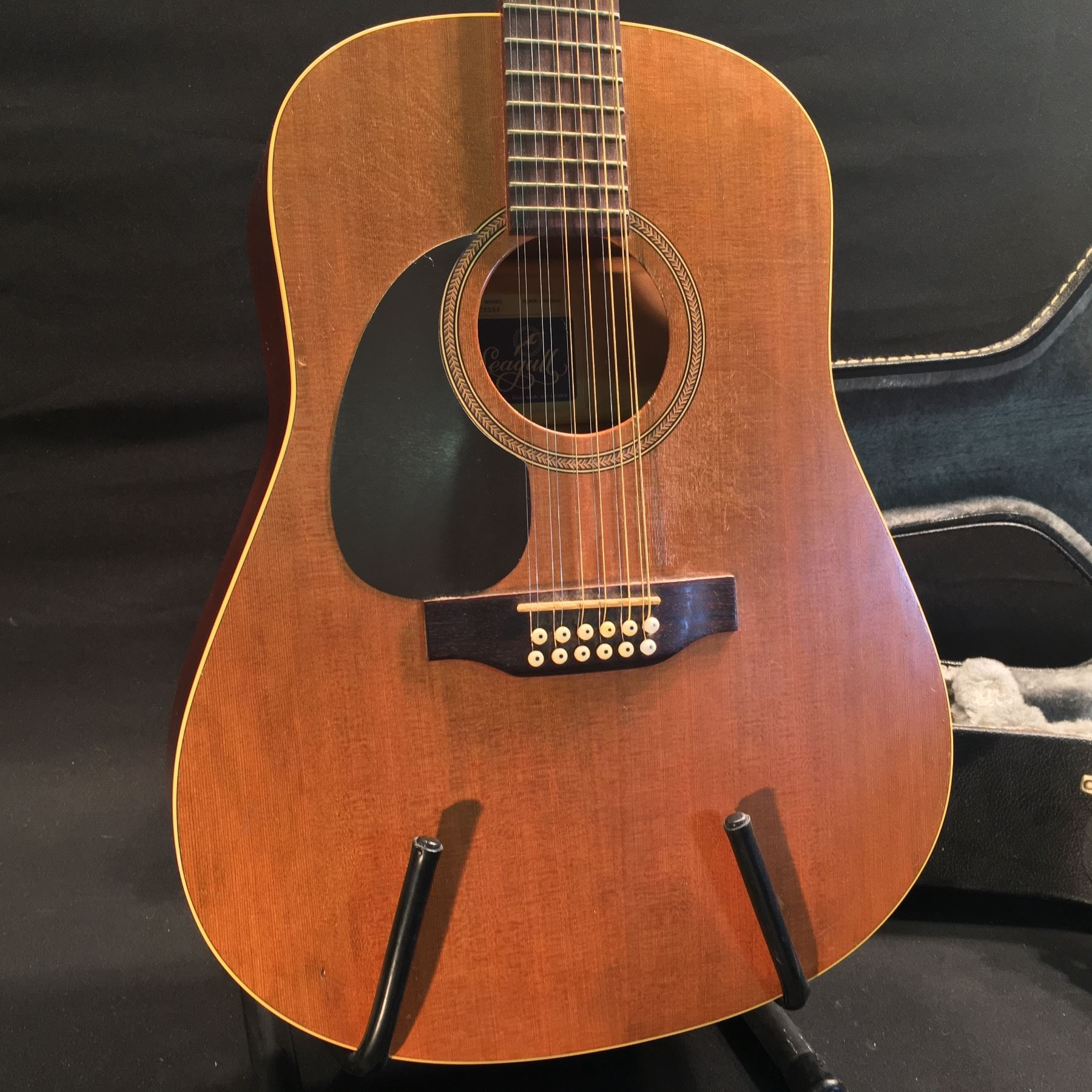 df4830e57f ... Image 4 : SEAGULL PLUS CEDAR 12 STRING ACOUSTIC GUITAR, SERIAL NUMBER  NOT LISTED, ...