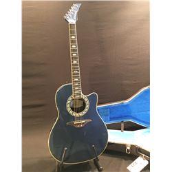 Ovation Model 1989 8 Acousticelectric Composite Curved Back Guitar