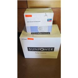 New Sunpower SPR 4000M Inverter and SMA DC-DISCONU-21 Disconnect