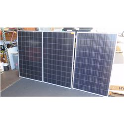 Qty 3 New Solar PV Panels: Renesolar JC260S-24/Bb, Clear