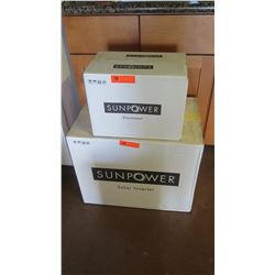 New Sunpower SPR 4000M Inverter and Sunpower SPR-DC-DISC-M-US Disconnect