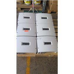 Qty 4 Sunpower SPR 3000M Inverters, Qty 2 Sunpower SPR 4000M Inverters - Previously Installed, Worki