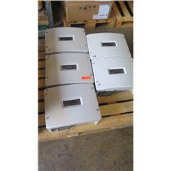 Qty 3 Sunpower SPR 3000M Inverters, Qty 2 Sunpower SPR 4000M Inverters - Previously Installed, Worki