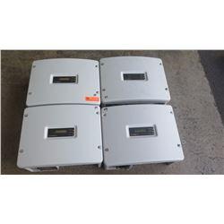 Qty 3 Sunpower SPR 3000M Inverters, Qty 1 Sunpower SPR 4000M Inverters - Previously Installed, Worki
